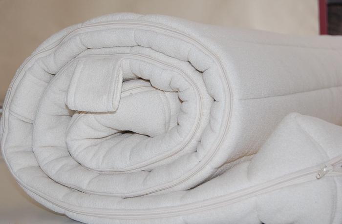 matratzenbezug natur 100 baumwolle und schurwolle. Black Bedroom Furniture Sets. Home Design Ideas